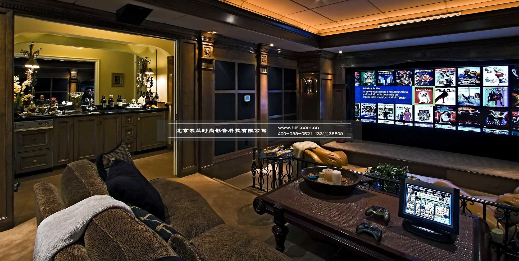 best-design-large-home-theater-room